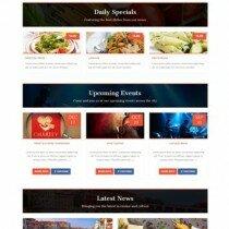 Красивая тема для кулинарных сайтов на вордпресс